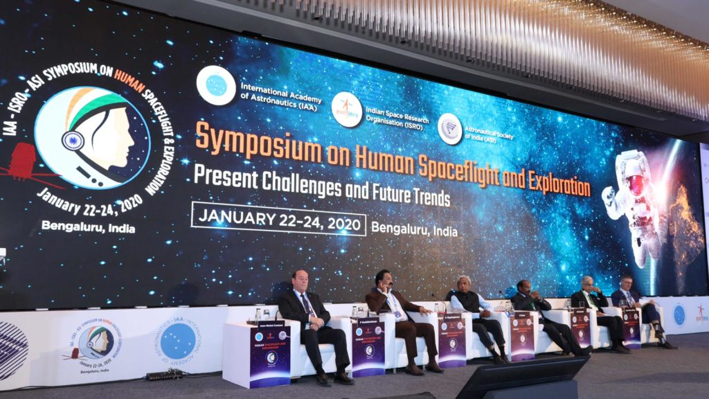 ISRO(Symposium on Human Spaceflight and Exploration)